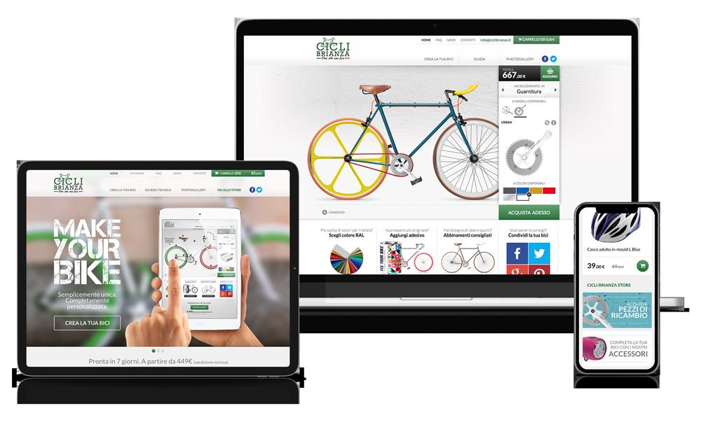 Cicli Brianza | Configuratore personalizzato